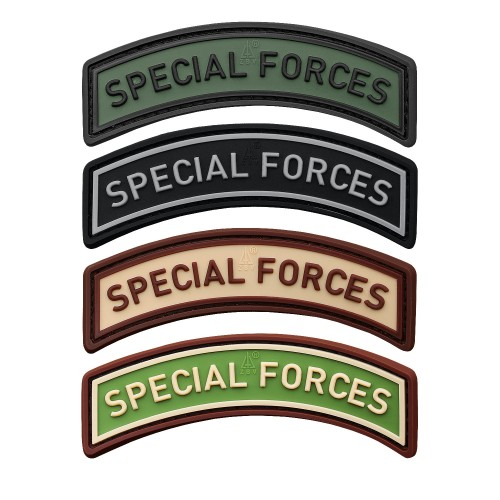 3-D Rubber Patch Special Forces Tab