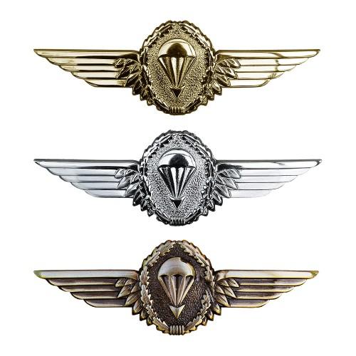Tätigkeitsabzeichen Metall Fallschirmspringer