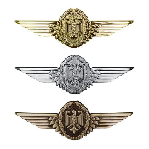 Tätigkeitsabzeichen Metall Militärflugzeugführer