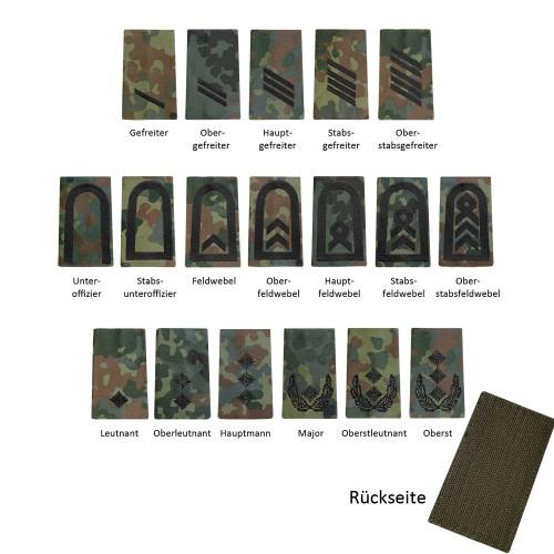 Bundeswehr Rangabzeichen Heer mit KLETT