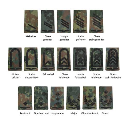 Bundeswehr Rangabzeichen Luftwaffe