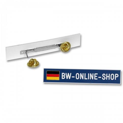 Namensschild Kunststoff Deutschlandfahne