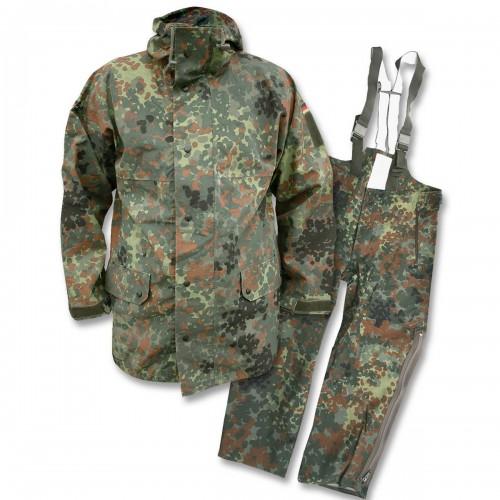 BW Goretex Anzug Original gebraucht flecktarn