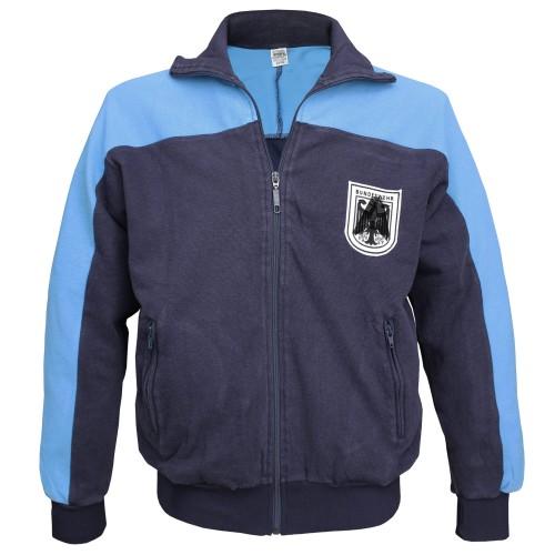 BW Bundeswehr Trainingsjacke Original gebraucht blau