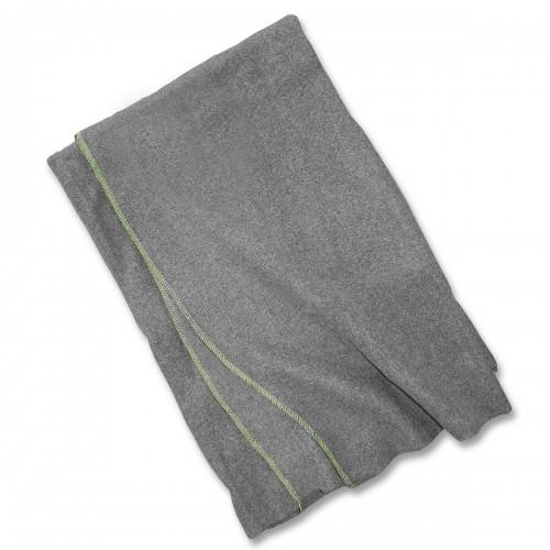 Poln. Wolldecke gebraucht grau