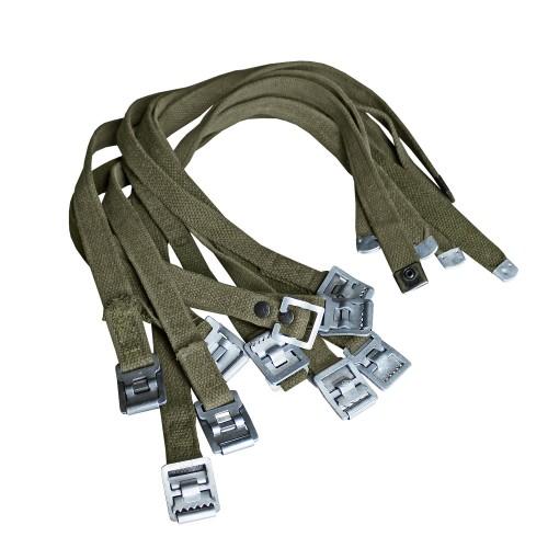 BW Packriemen Metall 10er Pack Original oliv gebraucht