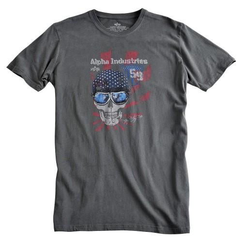 Alpha Industries T-Shirt Skull Helmet T (Abverkauf)