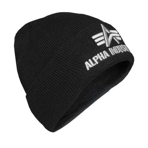Alpha Industries 3D Beanie Mütze