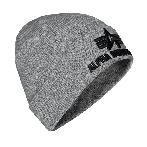 Alpha Industries 3D Beanie Mütze