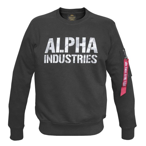 Alpha Industries Camo Print Sweat (Abverkauf)