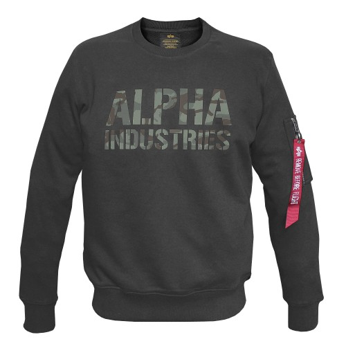 Alpha Industries Camo Print Sweat (Abverkauf)