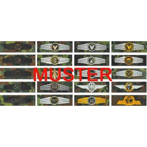 BW Tätigkeitsabzeichen Textil Fallschirmjäger
