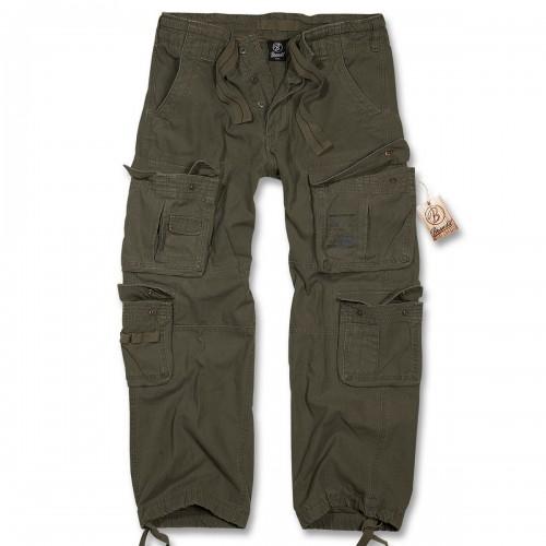 Pure Vintage Trouser Cargo Hose - oliv