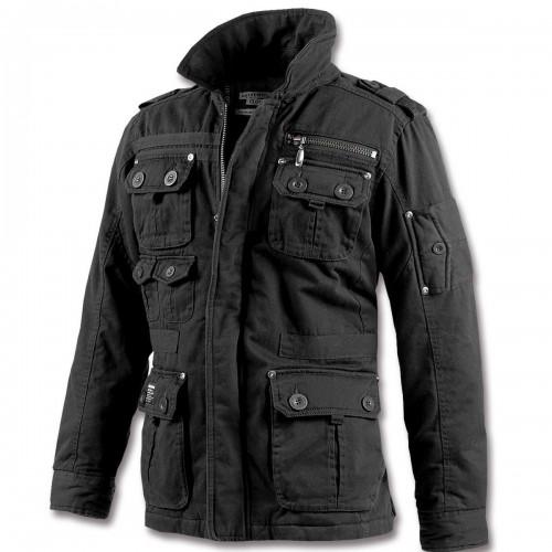 Brandit Platinum Vintage Jacke schwarz