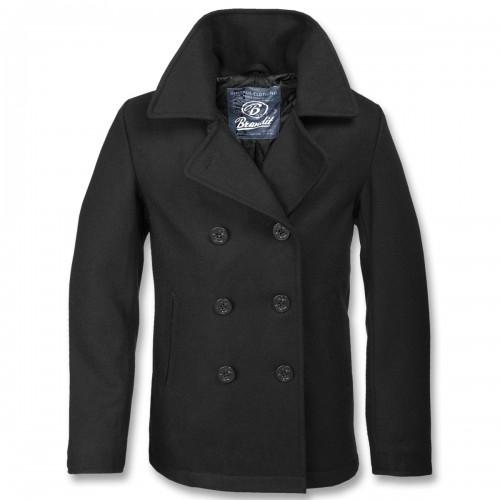 Pea Coat - schwarz