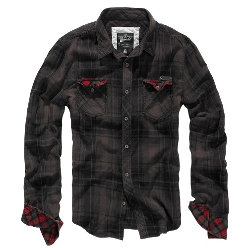 Brandit Duncan Check Shirt Langarm Hemd