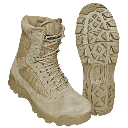 Brandit SWAT Tactical Boots Zipper