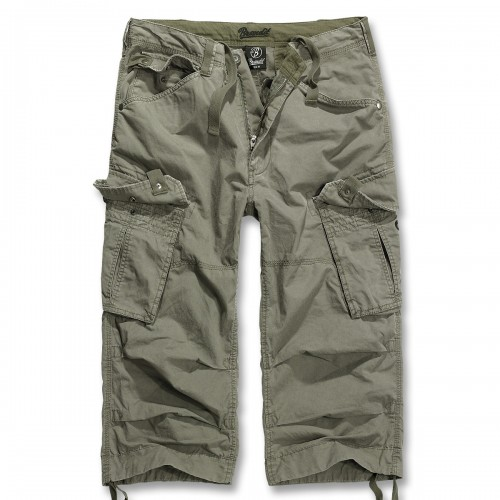 Columbia Mountain 3/4 Cargo Shorts Hose - oliv