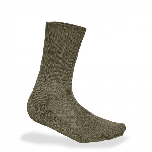 Bundeswehr Socken mit Plüschsohle - oliv