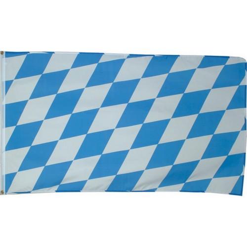 Flagge / Fahne 90x150 Cm Bayern Blau / Weiss Im Bundeswehr