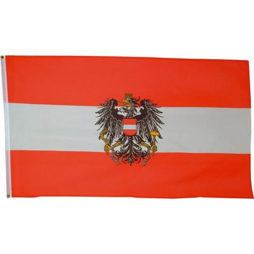 Flagge / Fahne 90x150 cm Österreich m. Adler