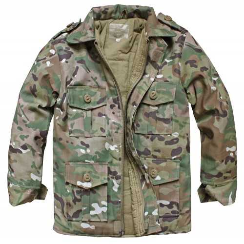 Highlander Kinder Combat Jacke multitarn