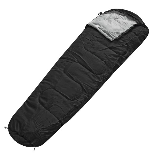 Schlafsack Sleepline 250 Mummy - schwarz