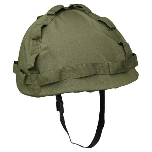 US Helm Kunststoff mit Bezug Import - oliv