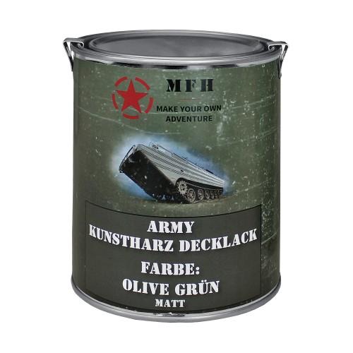 Army Farbdose 1 Liter matt - oliv