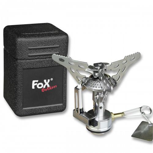 Fox Gaskocher klappbar m. Piezo-Zündung klein