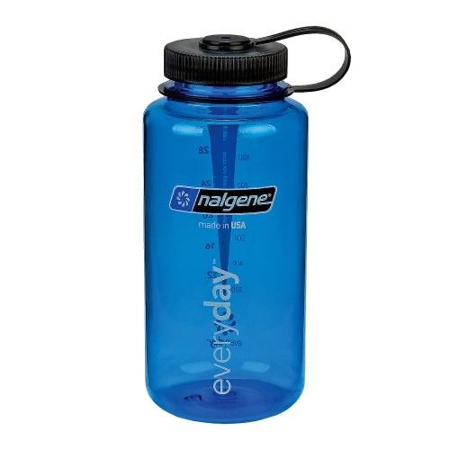 Everyday Weithals Trinkflasche - blau