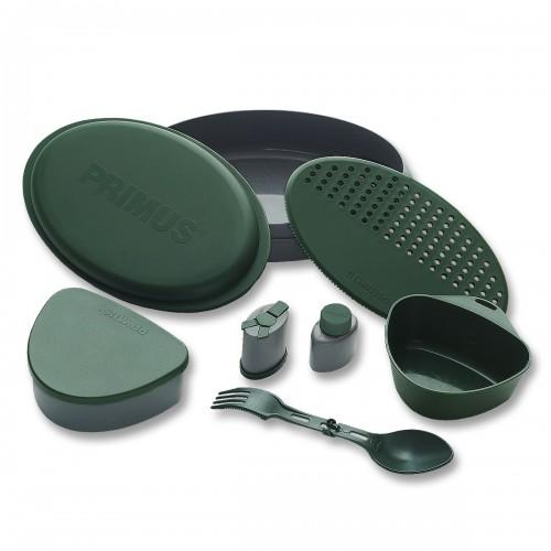 Essgeschirr Set 8-teilig - grün