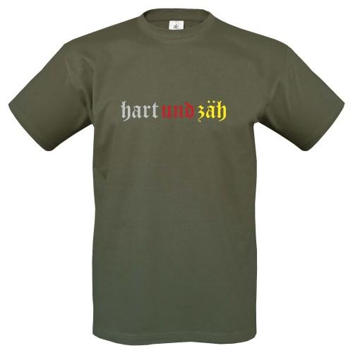 T-Shirt m. Motiv HART UND ZÄH