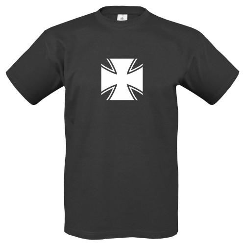 T-Shirt m. Motiv Eisernes Kreuz