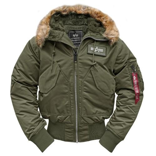 Alpha Industries CWU Hooded Fliegerjacke (Sale)