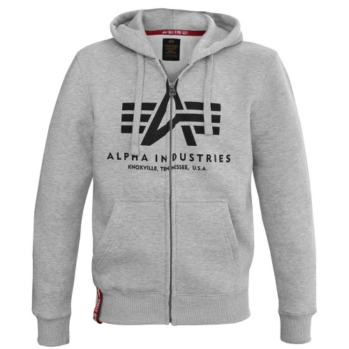 Alpha Industries Basic Zip Hoody Kapuzen Jacke