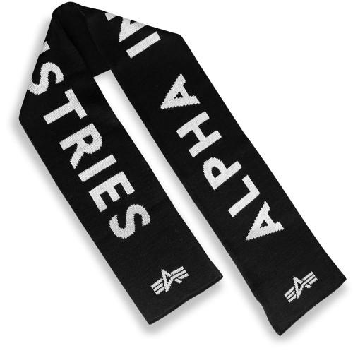 Alpha Industries Schal Logo Schriftzug