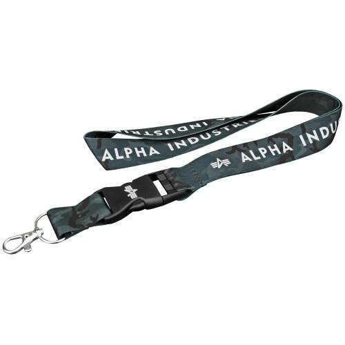 Alpha Industries Camo Lanyard