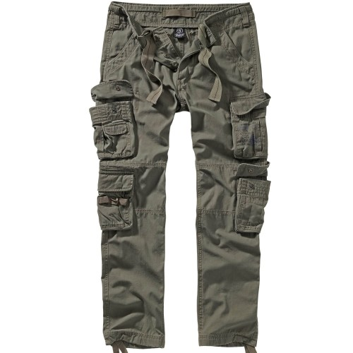 Brandit Pure Slim Fit Trouser Cargo Hose (Sale)