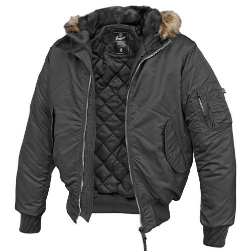 Brandit MA-1 Jacke Hooded (Abverkauf)