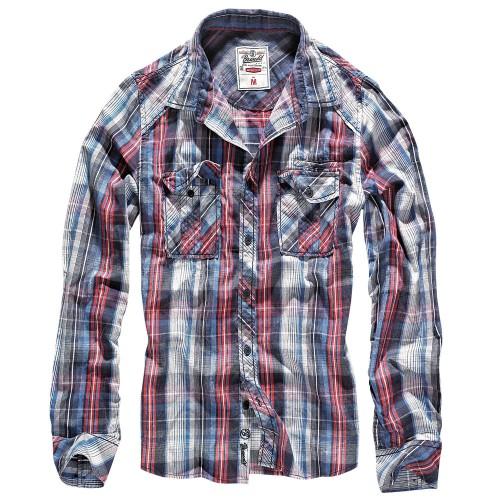 Brandit Central City Check Shirt