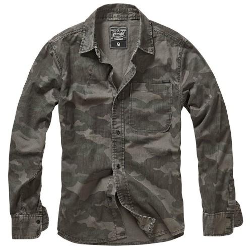 Brandit Josh Shirt Langarm Hemd