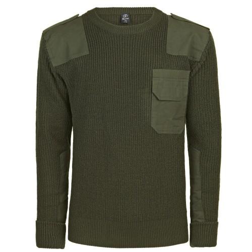 Brandit BW Pullover mit Brusttasche