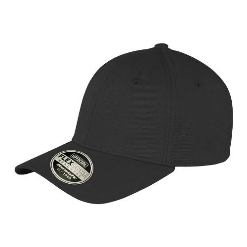 Baseball Cap geschlossen - schwarz