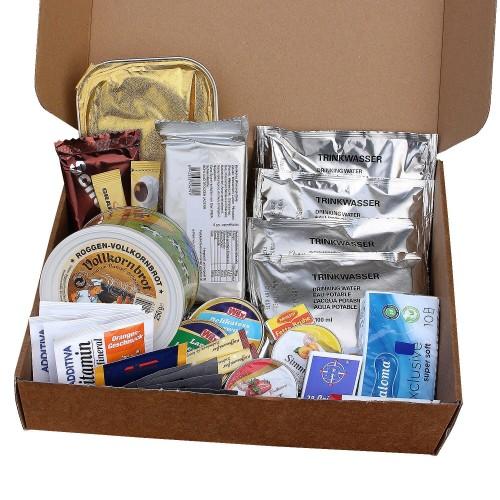 EPA Einmannpackung Typ IV 3 Geflügelhacksteaks mit Curry-Reis