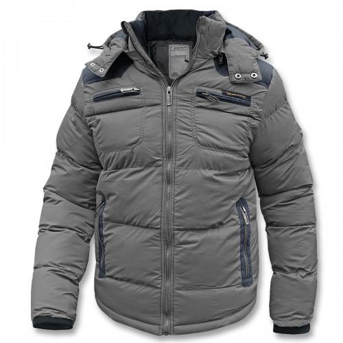 Steppjacke Winter PLM (Abverkauf) - grau