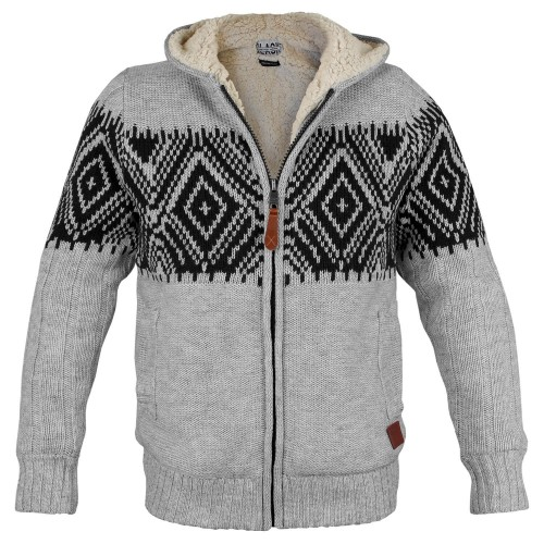 Poolman Norweger Strickjacke mit Teddyfutter (Sale)