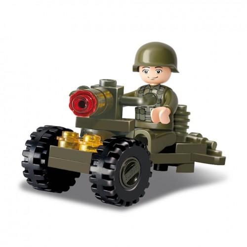 Sluban Soldat Bausteine Set M38-B0118