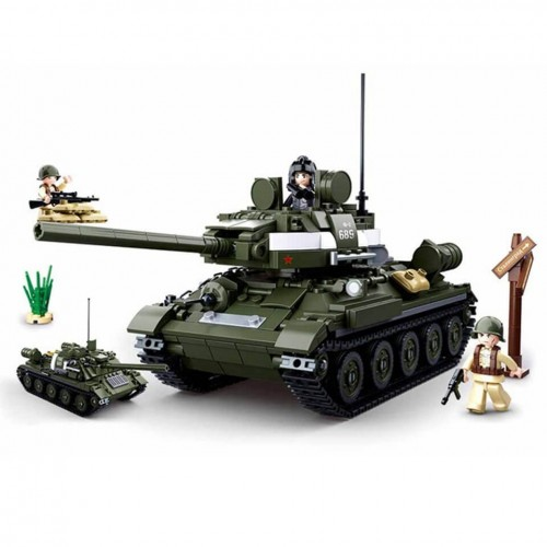 Sluban Alliierter Panzerjäger WWII Bausteine Set M38-B0689