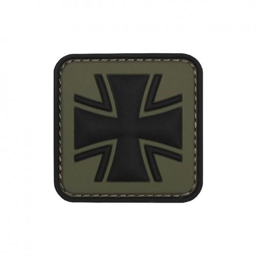 101 INC Rubber Patch Eisernes Kreuz